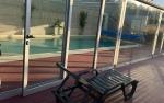 Zona exterior à piscina